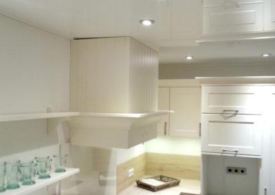 Spanndecke im Küche